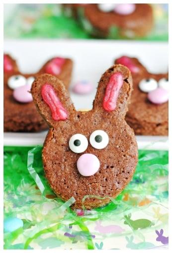 Brownie Easter Bunnies