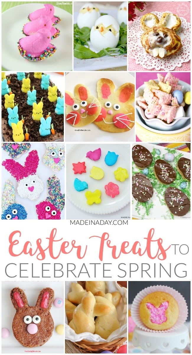 Sweet Easter Treats to Celebrate the Spring Season
