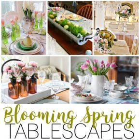 Fresh Spring Tablescapes for Special Holiday Gatherings 1