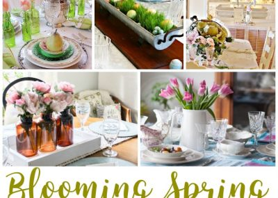 Fresh Spring Tablescapes for Special Holiday Gatherings 23