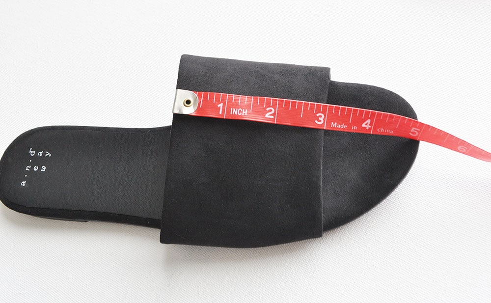 slide sandals, suede slide sandals, Fringe Slide Sandals