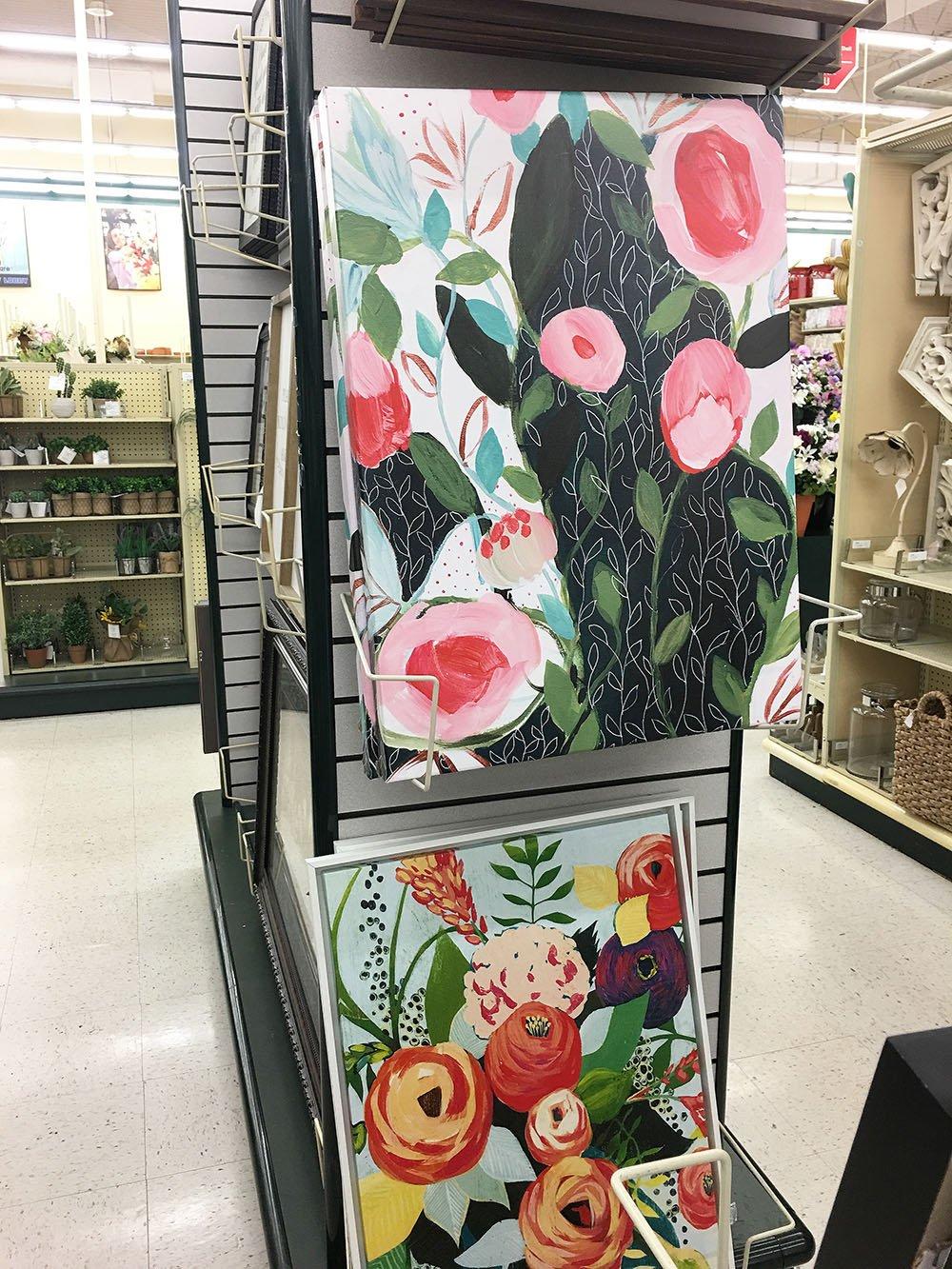 Byba: Floral Wall Art Hobby Lobby