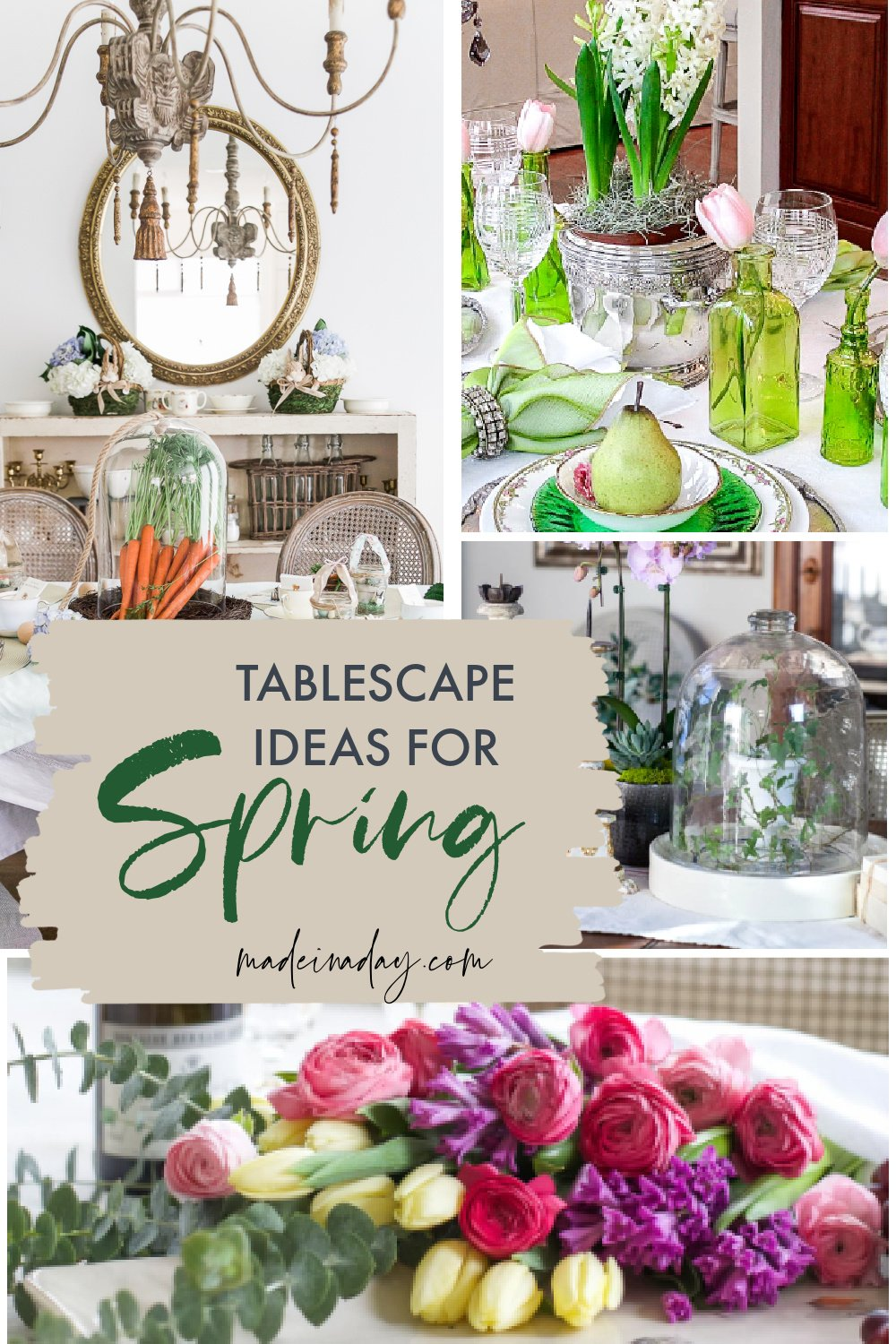 Fresh Spring Tablescapes Ideas for Easter