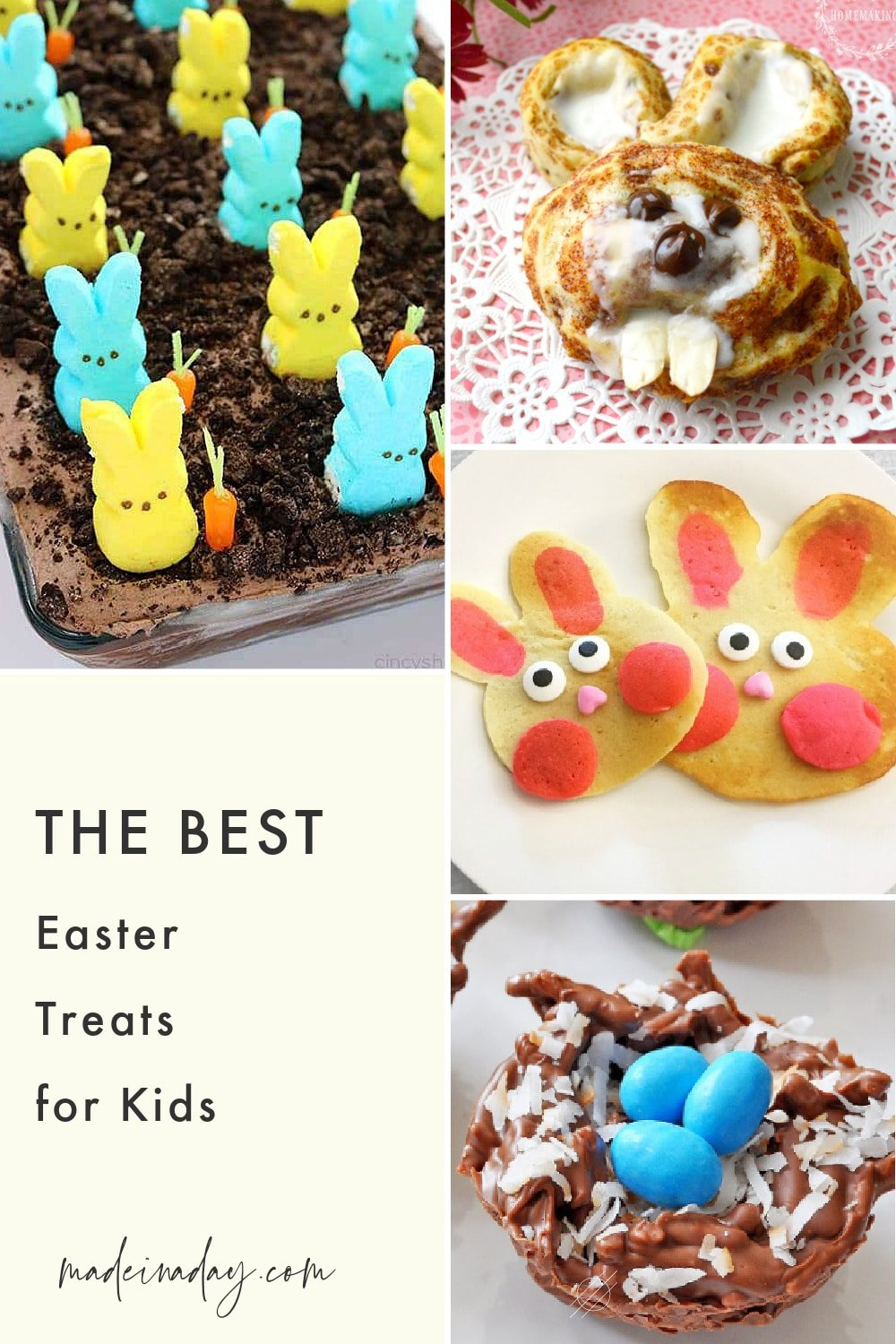 Fun Easter Treats: Bunnies Eggs and Baby Chicks