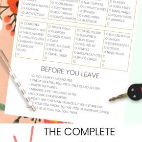 The Complete Vacation Travel Packing List + Tips 1