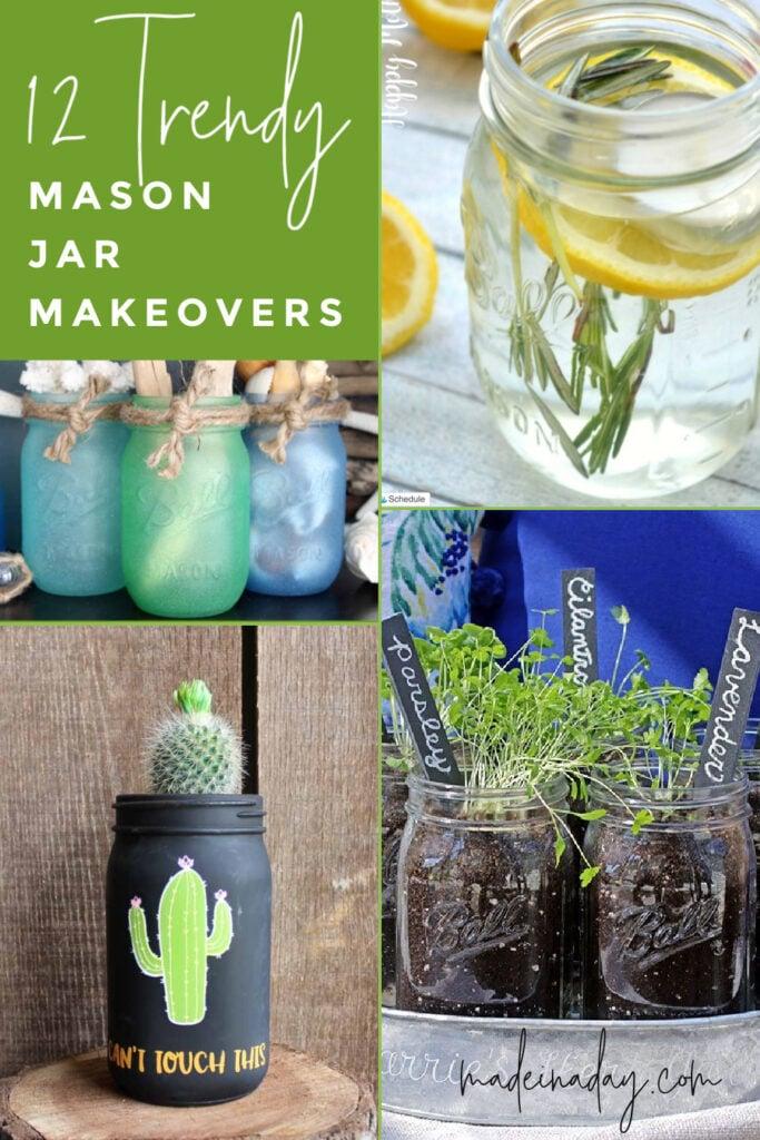 DIY Mason Jar Crafts to Make, jar makeovers