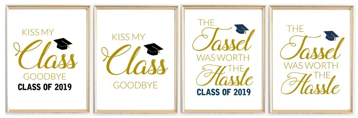 Celebration Quotes: Graduation Printables for Party Decor 3