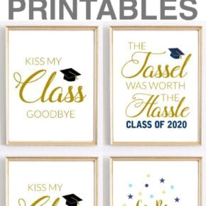 Celebration Quotes: Graduation Printables for Party Decor 1