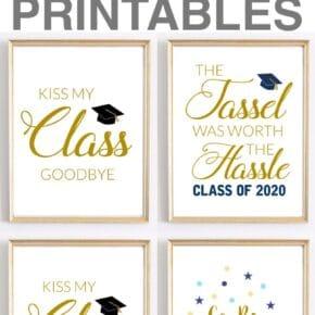 Celebration Quotes: Graduation Printables for Party Decor 29