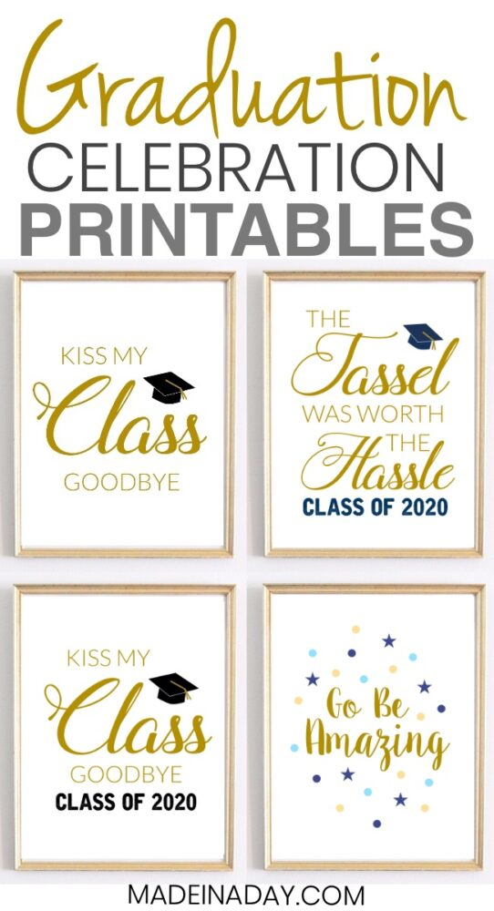 graduation prints pin