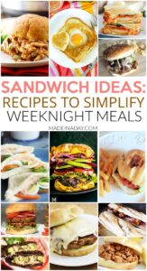 Spotlight: Sandwich Recipes to Make Weeknight Meals a Breeze 1