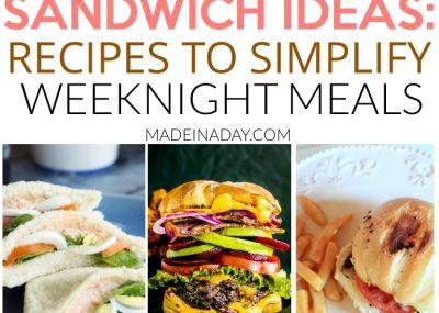 Spotlight: Sandwich Recipes to Make Weeknight Meals a Breeze 8