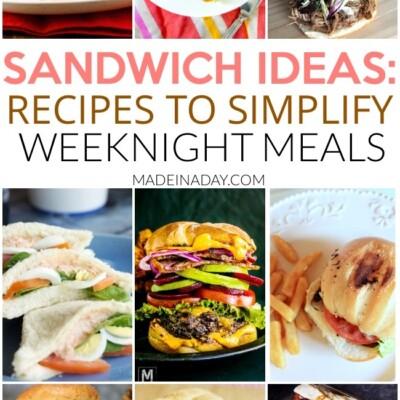 Spotlight: Sandwich Recipes to Make Weeknight Meals a Breeze