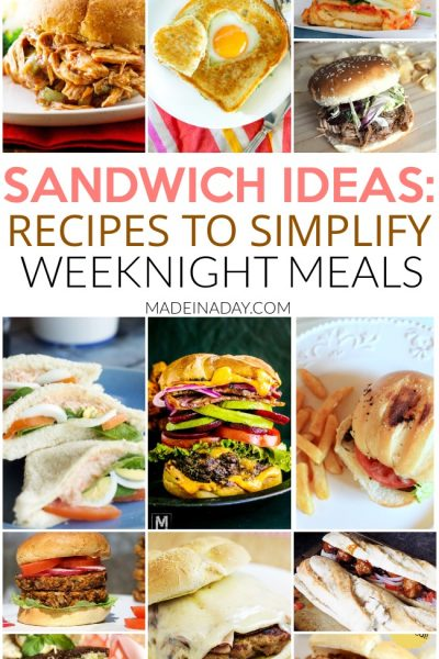 Spotlight: Sandwich Recipes to Make Weeknight Meals a Breeze