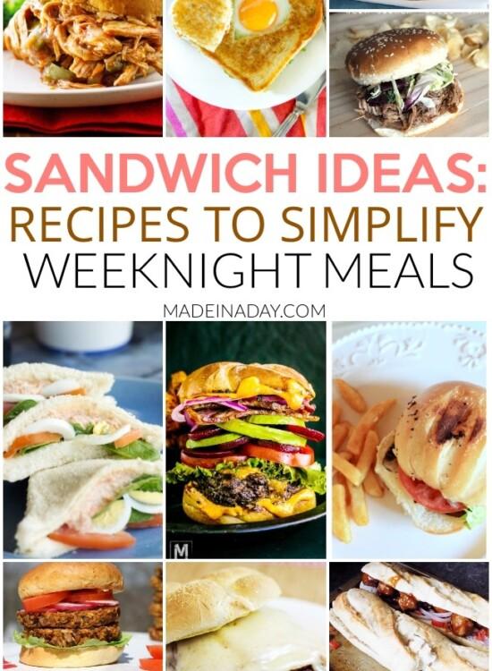 Spotlight: Sandwich Recipes to Make Weeknight Meals a Breeze 37