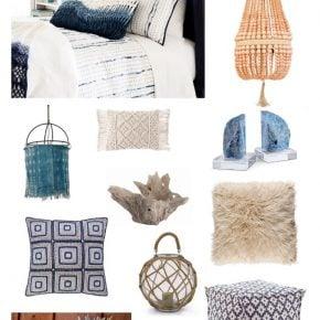 Ultimate Beach Lovers Gift Guide: Coastal Bohemian Bedroom 1