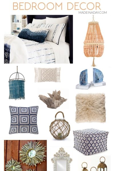 Ultimate Beach Lovers Gift Guide: Coastal Bohemian Bedroom