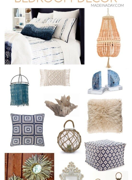 Ultimate Beach Lovers Gift Guide: Coastal Bohemian Bedroom 37