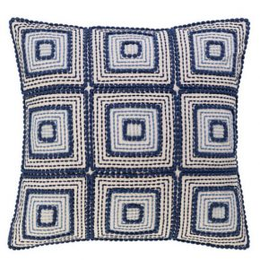 indigid embroidered pillow