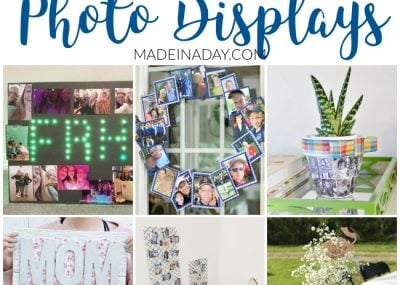 12 Super Creative DIY Photo Displays for Gifts 20