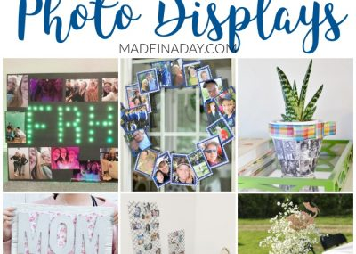 12 Super Creative DIY Photo Displays for Gifts 1