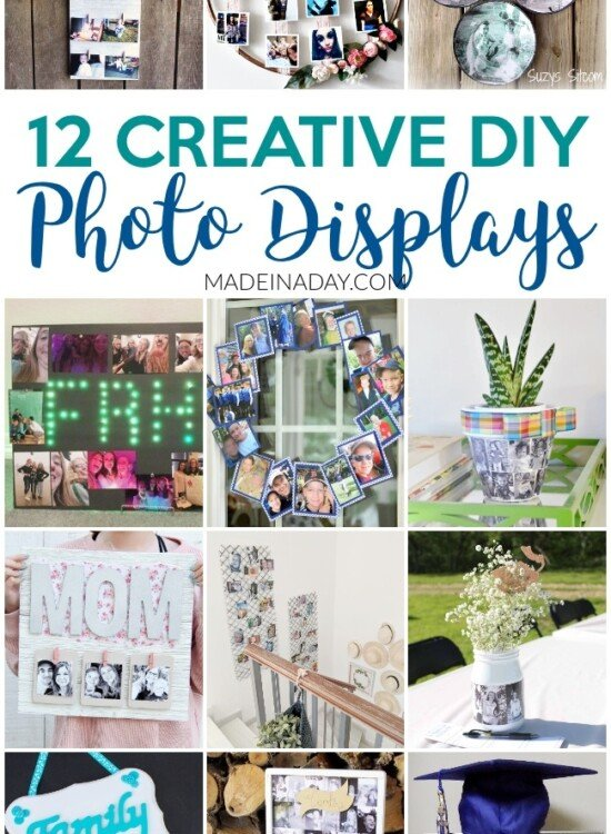 12 Super Creative DIY Photo Displays for Gifts 4