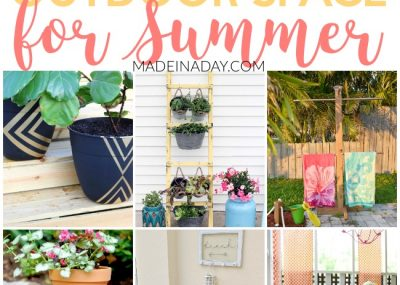 Amazing Projects to DIY Your Outdoor Space for Summer 3
