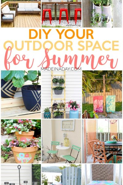 Amazing Projects to DIY Your Outdoor Space for Summer