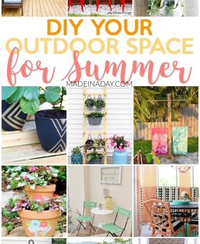 Amazing Projects to DIY Your Outdoor Space for Summer 39