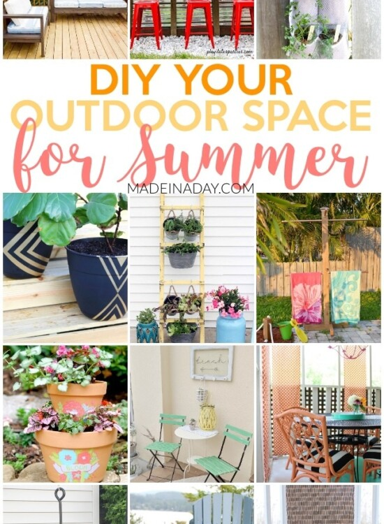 Amazing Projects to DIY Your Outdoor Space for Summer 5