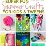Super Fun Summer Crafts for Tweens & Kids 29
