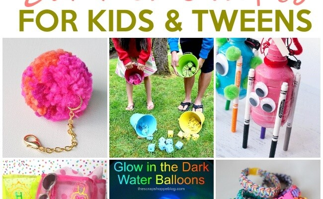 Super Fun Summer Crafts For Tweens