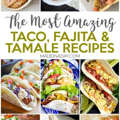 10 of the Most Amazing Taco Fajita & Tamale Recipes