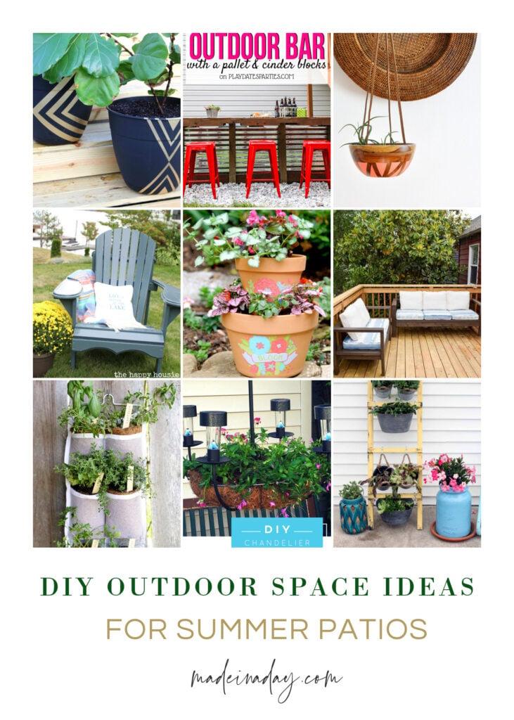 Summer DIY Outdoor Space Ideas