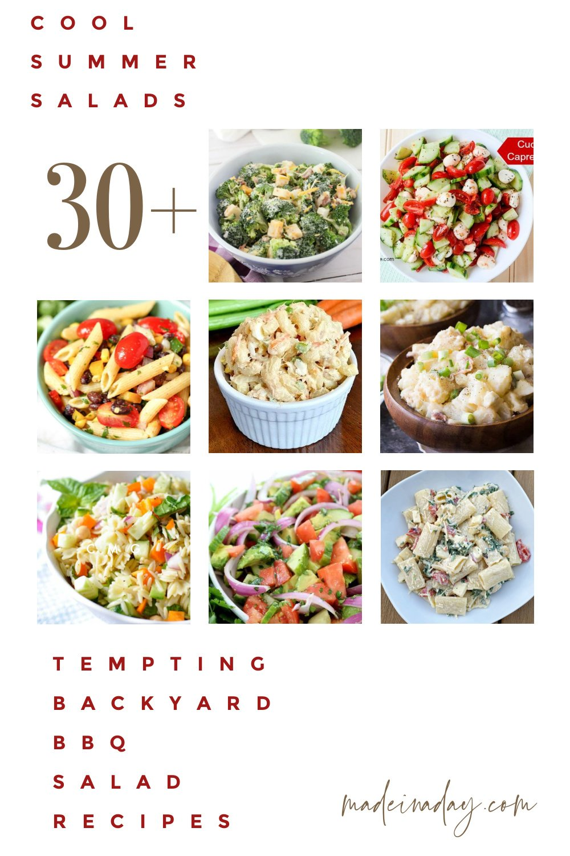 30+ Tempting Backyard BBQ Summer Salad Recipes