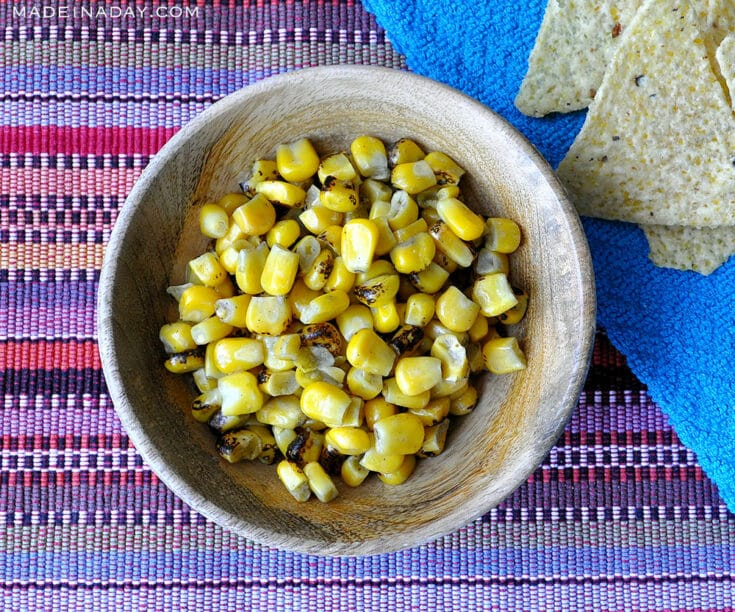 Garlic Herb Butter Grilled Corn on the Cob 7