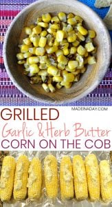 Garlic Herb Butter Grilled Corn on the Cob 1