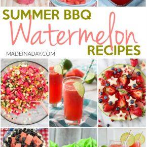 Summer BBQ Watermelon Recipes 1