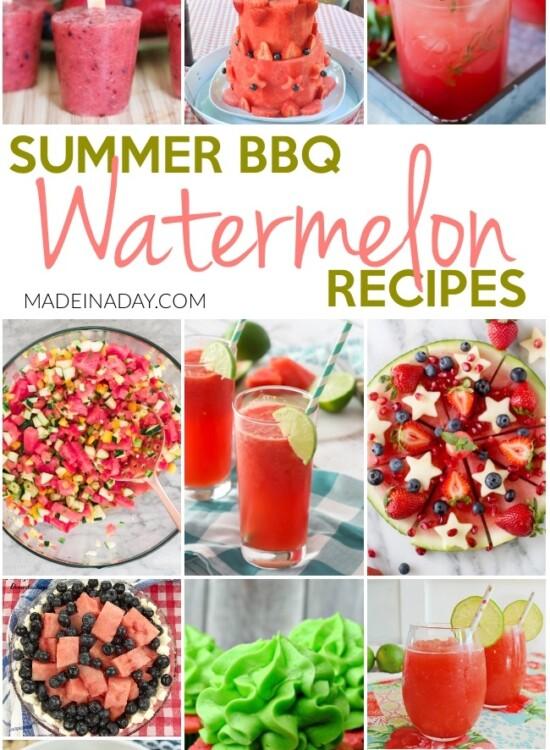 Summer BBQ Watermelon Recipes 29