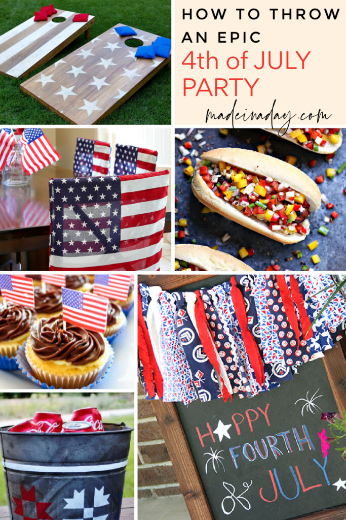 Everything you need to throw an epic 4th of July party