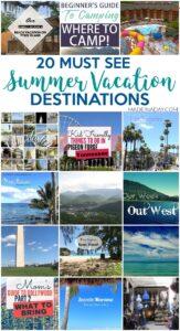 20+ Road Trip Summer Vacation Destinations 1