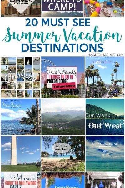 20+ Road Trip Summer Vacation Destinations