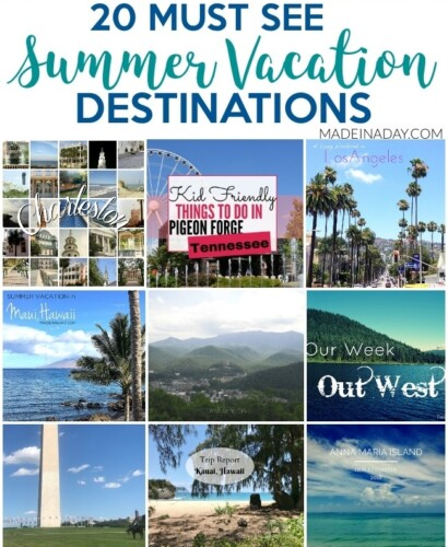Unforgettable 20+ Road Trip Summer Vacation Destinations 31