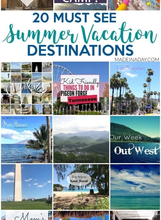 Unforgettable 20+ Road Trip Summer Vacation Destinations 2