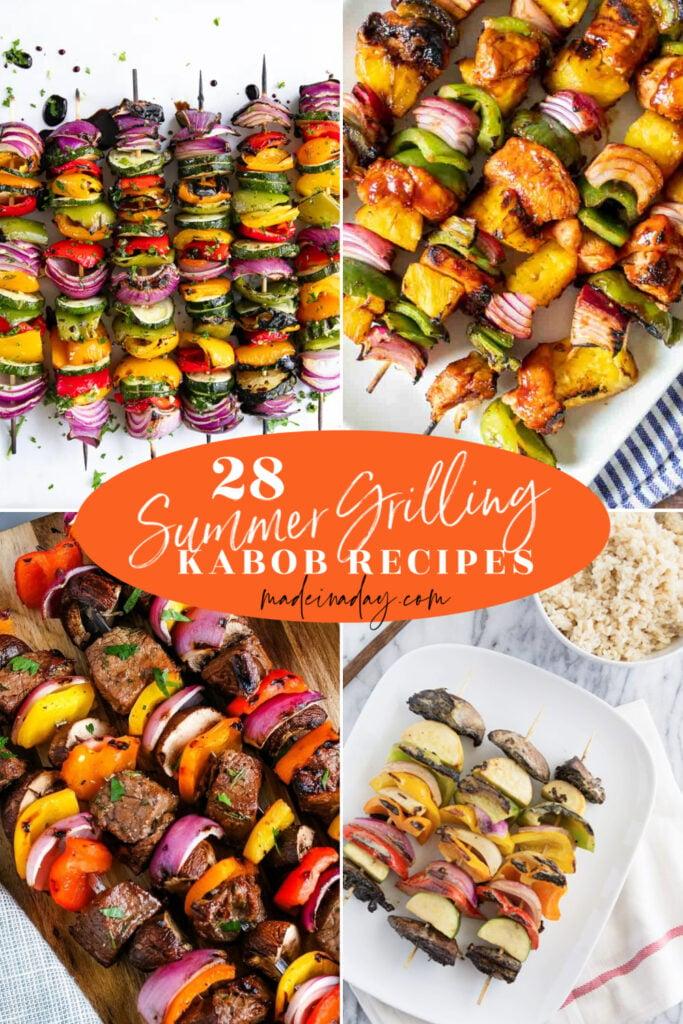 28 best grilled kabob recipe