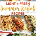 Light Fresh Summer Kabob Recipes 29