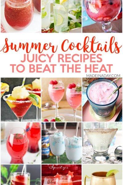 12 Fruity Cocktail Recipes for Summer Entertaining