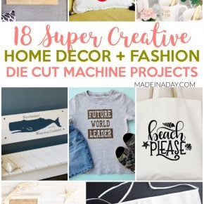 18 Super Creative Die Cut Machine Projects 1