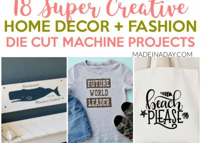 18 Super Creative Die Cut Machine Projects 23