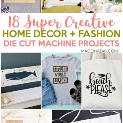 18 Super Creative Die Cut Machine Projects